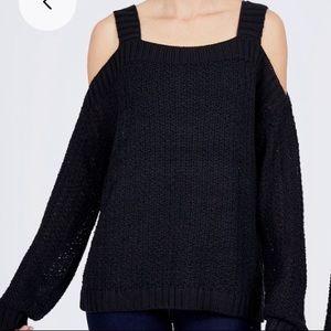 Endless Rose Cold Shoulder Sweater